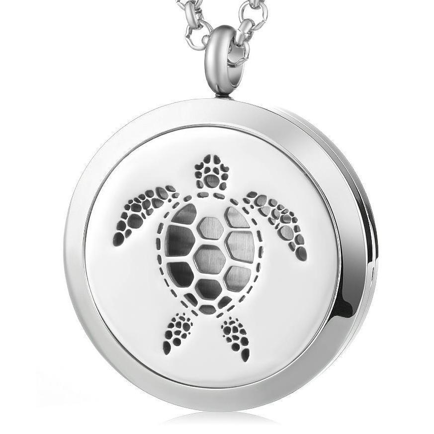 Aromatherapy Locket – Sea Turtle