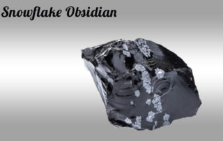 Snowflake Obsidian - Balance / Centering / Support